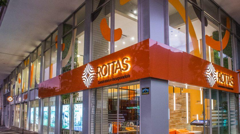 Nova estratégia comercial e digital da Rottas contribuiu para a comercialização de R$ 96,3 milhões em imóveis, de janeiro a junho, melhor resultado da empresa para o período